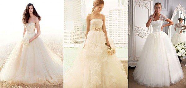 Платье невесты | Цвет платья
