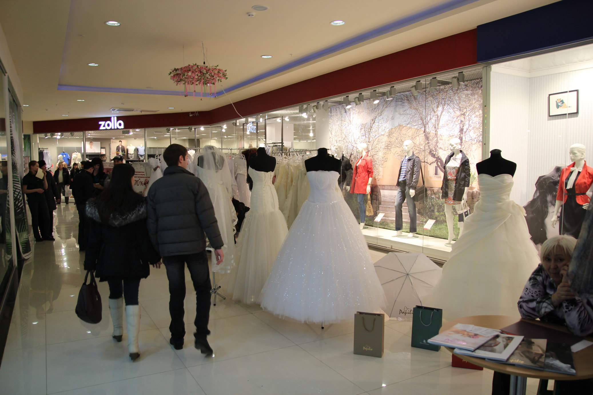 Фотоотчёт «Свадебный бутик» 2013 свадебная выставка–продажа