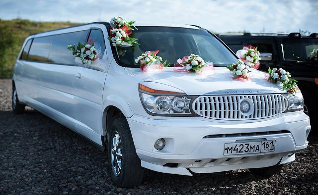 Прокат автомобилей для свадебных торжеств