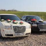 Прокат лимузина, автомобилей Chrysler 300 и Mercedes W221 Long