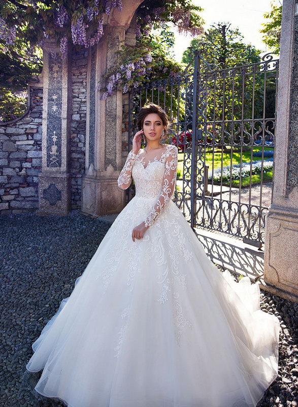 Скидки на коллекцию свадебных платьев 2018 в салоне