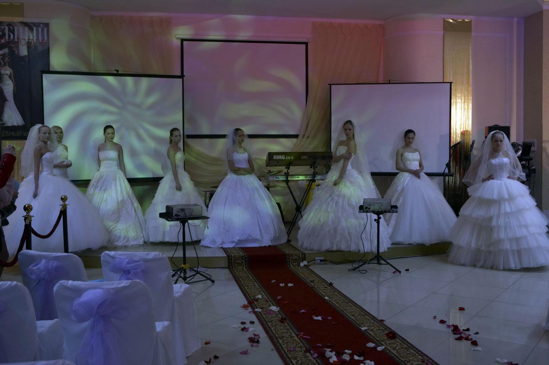 Свадебная шоу-выставка в ТРК