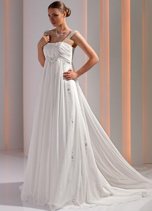 Платье невесты | Стиль «Королева», «Ампир» или «Греческий стиль»