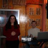 Ведущая Натали и профессиональные музыканты